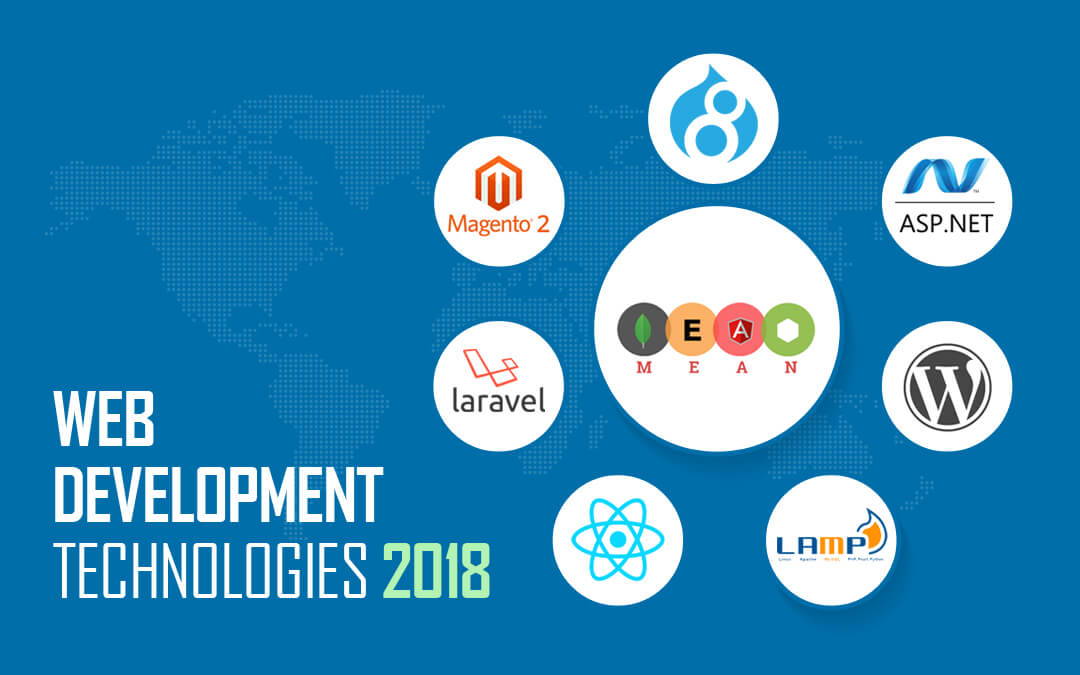 Hot and Trending Web Development Technologies 2018